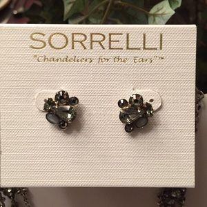 Sorrelli Stud Earrings Gray Preloved
